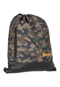 Bench - CLASSIC  - Drawstring sports bag - olivgruen - 2
