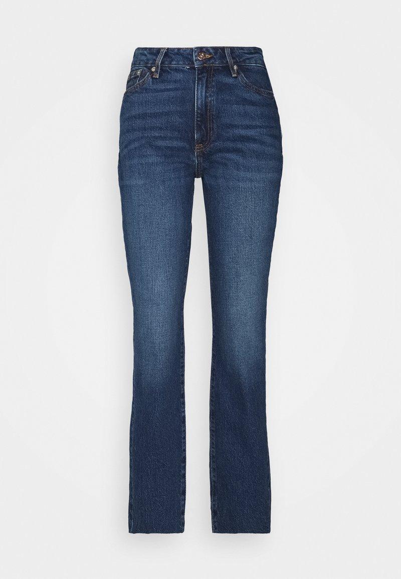 River Island Tall - Straight leg jeans - dark blue denim