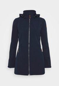 Icepeak - UHRICHSVILLE - Soft shell jacket - dark blue - 4