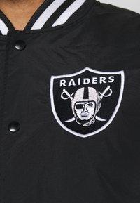 New Era - NFL LAS VEGAS RAIDERS NFL TEAM WORDMARK - Club wear - black - 6