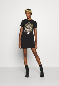 Versace Jeans Couture - DRESS - Jersey dress - black - 5