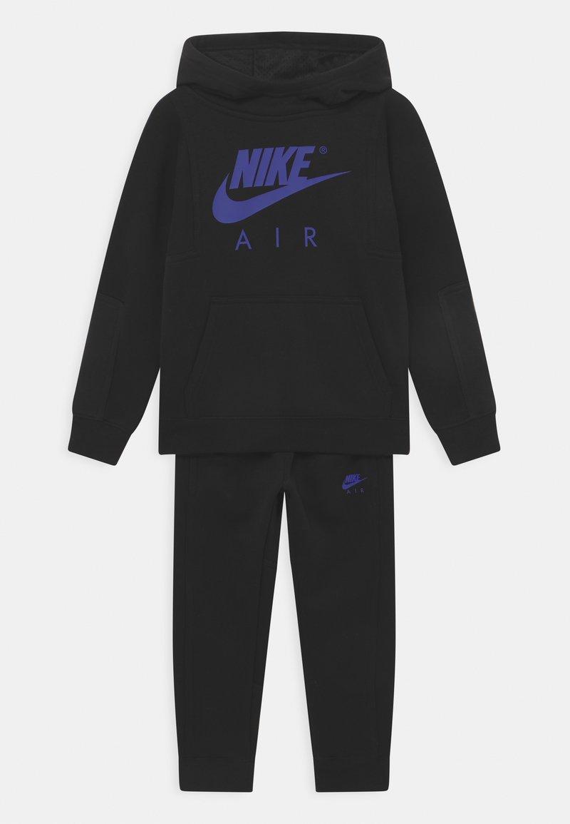 Nike Sportswear - AIR SET UNISEX - Tepláková souprava - black