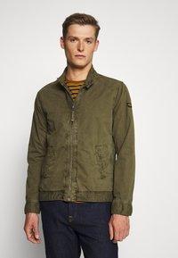 Schott - JAY - Summer jacket - light kaki - 0