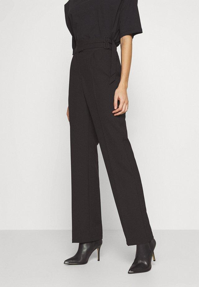 CLARKE TROUSER - Trousers - black