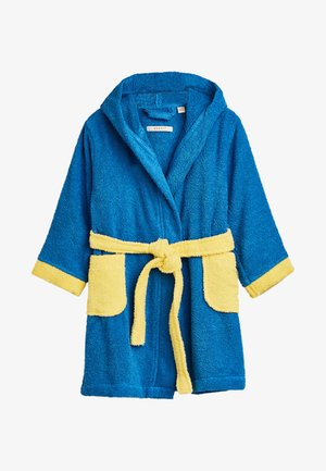 Dressing gown - blue/yellow