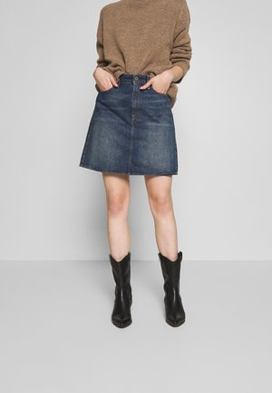 3301  - Denim skirt - vintage blue stone