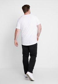 Jack & Jones - JJITIM JJORIGINAL - Jeans straight leg - black denim - 2