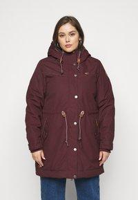 Ragwear Plus - CANNY - Zimní kabát - wine red - 0
