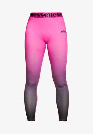 JESOLO - Leggings - pink/black