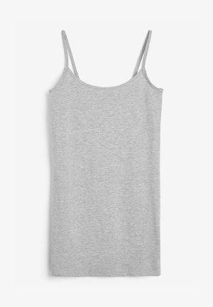 LONGLINE THIN - Top - grey