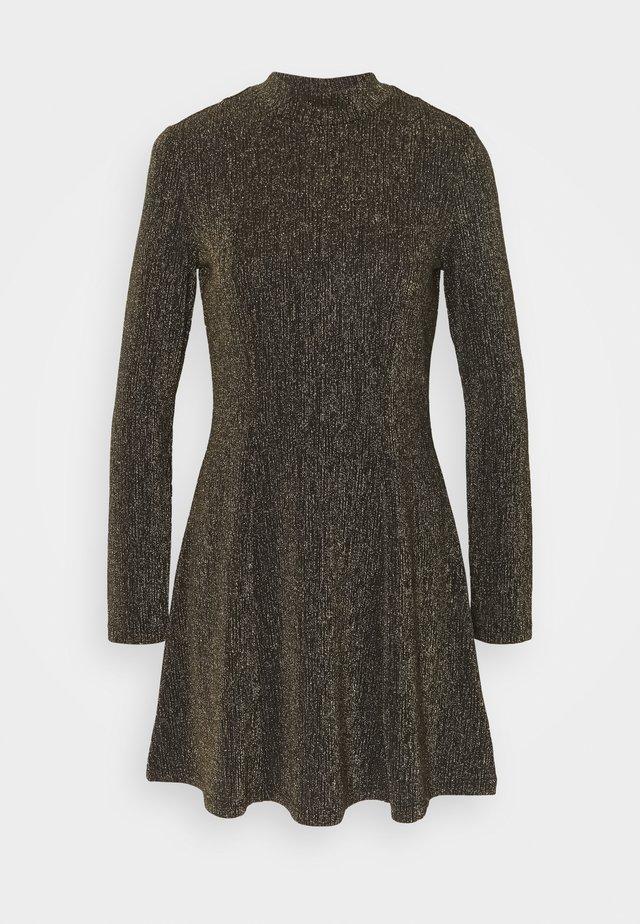 RITVA DRESS - Cocktail dress / Party dress - gold/black