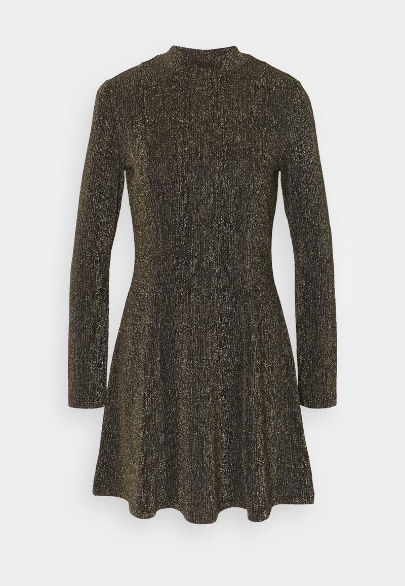 Monki - RITVA DRESS - Cocktail dress / Party dress - gold/black