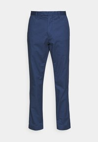 STRETCH SLIM FIT COTTON CHINO - Trousers - rustic navy