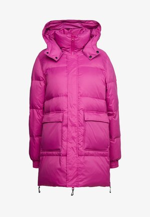 SOL - Down coat - fuchsia