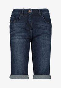 Next - Denim shorts - dark blue - 1
