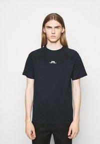 J.LINDEBERG - DAVIN - Print T-shirt - navy - 0