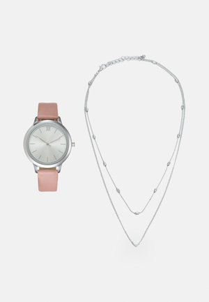 SET - Watch - pink/silver-coloured