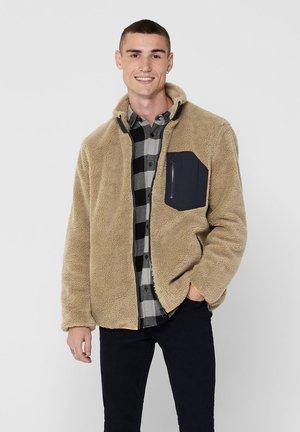 Fleece jacket - incense