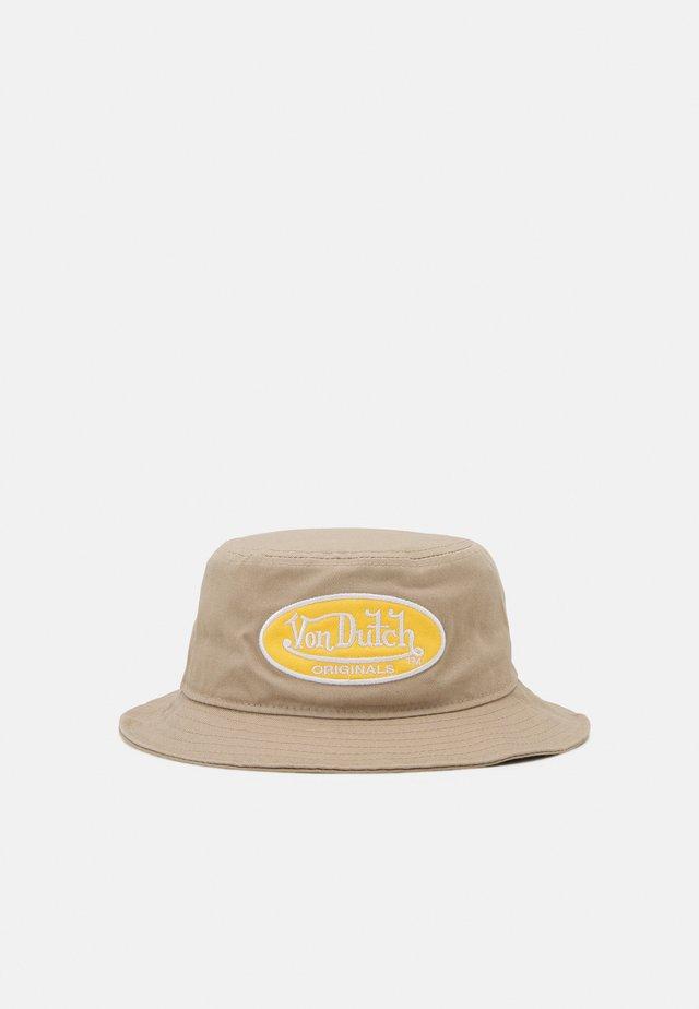 BUCKETOVAL LOGO UNISEX - Hat - beige