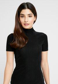 Noisy May Petite - NMNONA MINI DRESS - Shift dress - black - 4