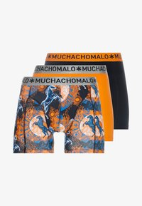 MUCHACHOMALO - ZHORS 3 PACK - Pants - orange/black - 3