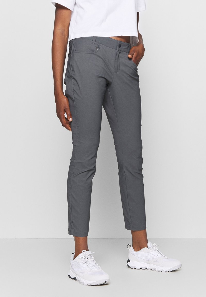Columbia - FIRWOOD POCKET SLIM PANT - Stoffhose - grill