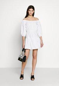 Guess - OTTAVIA DRESS - Day dress - blanc pur - 1