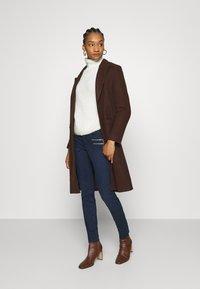 Mos Mosh - CHARLIE CORE ZIP - Slim fit jeans - dark blue - 1