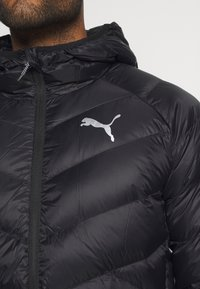 Puma - PWRWARM PACKLITE JACKET - Down jacket - black - 5