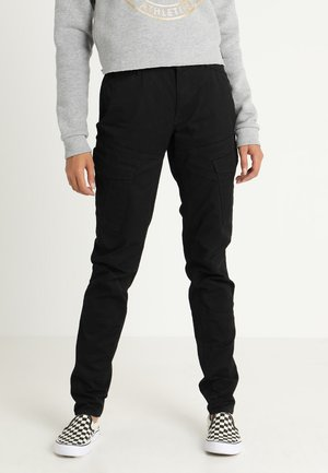 ROVIC MID SKINNY  - Cargo trousers - black