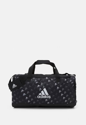 GRAPHIC - Sports bag - black/white