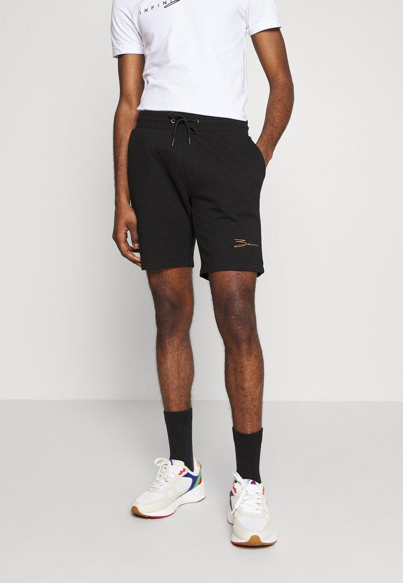 Zign - Shorts - black