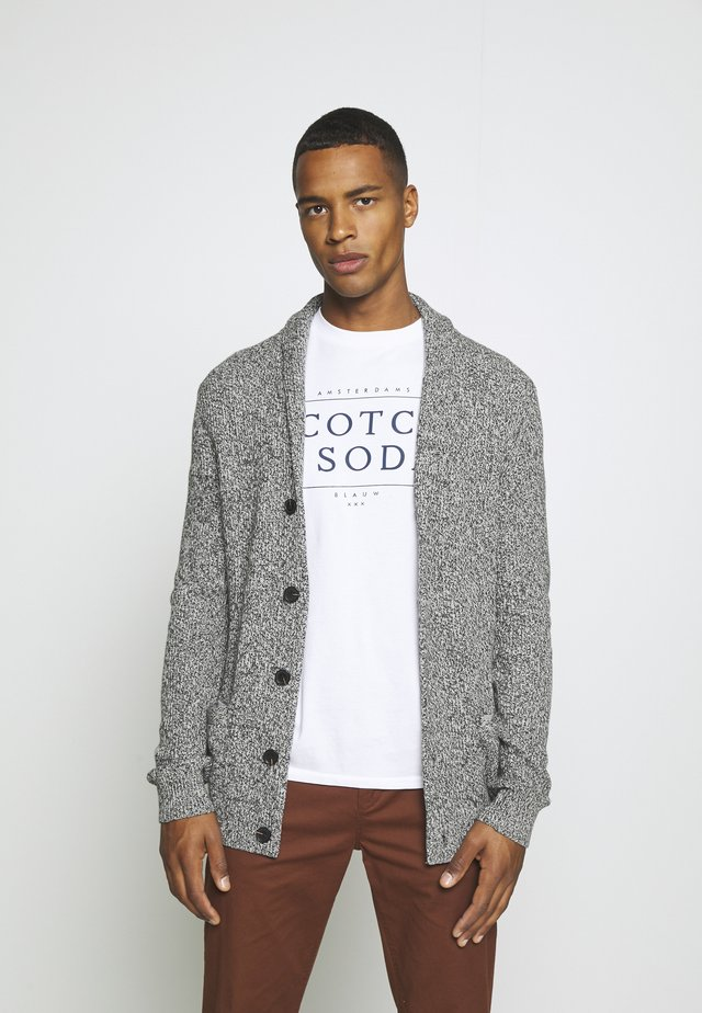 Cardigan - marl grey