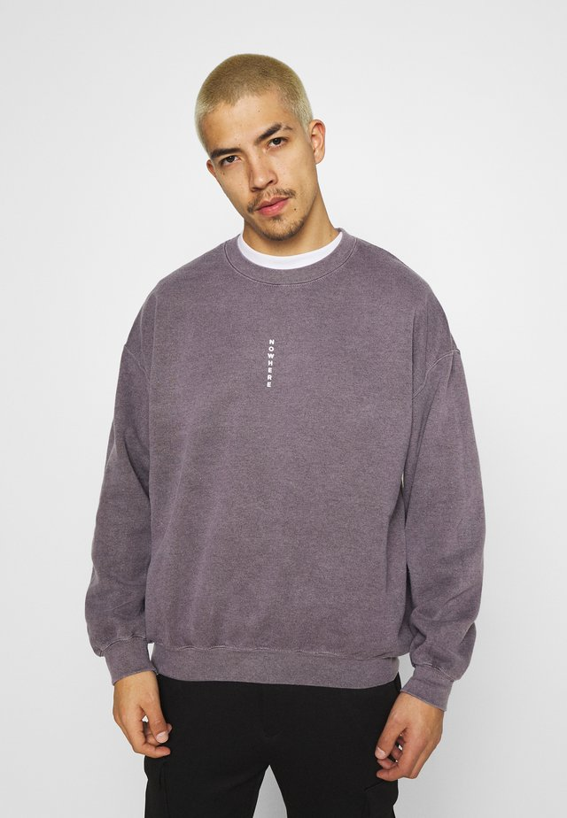 PIN NOWHERE  - Sweater - grey