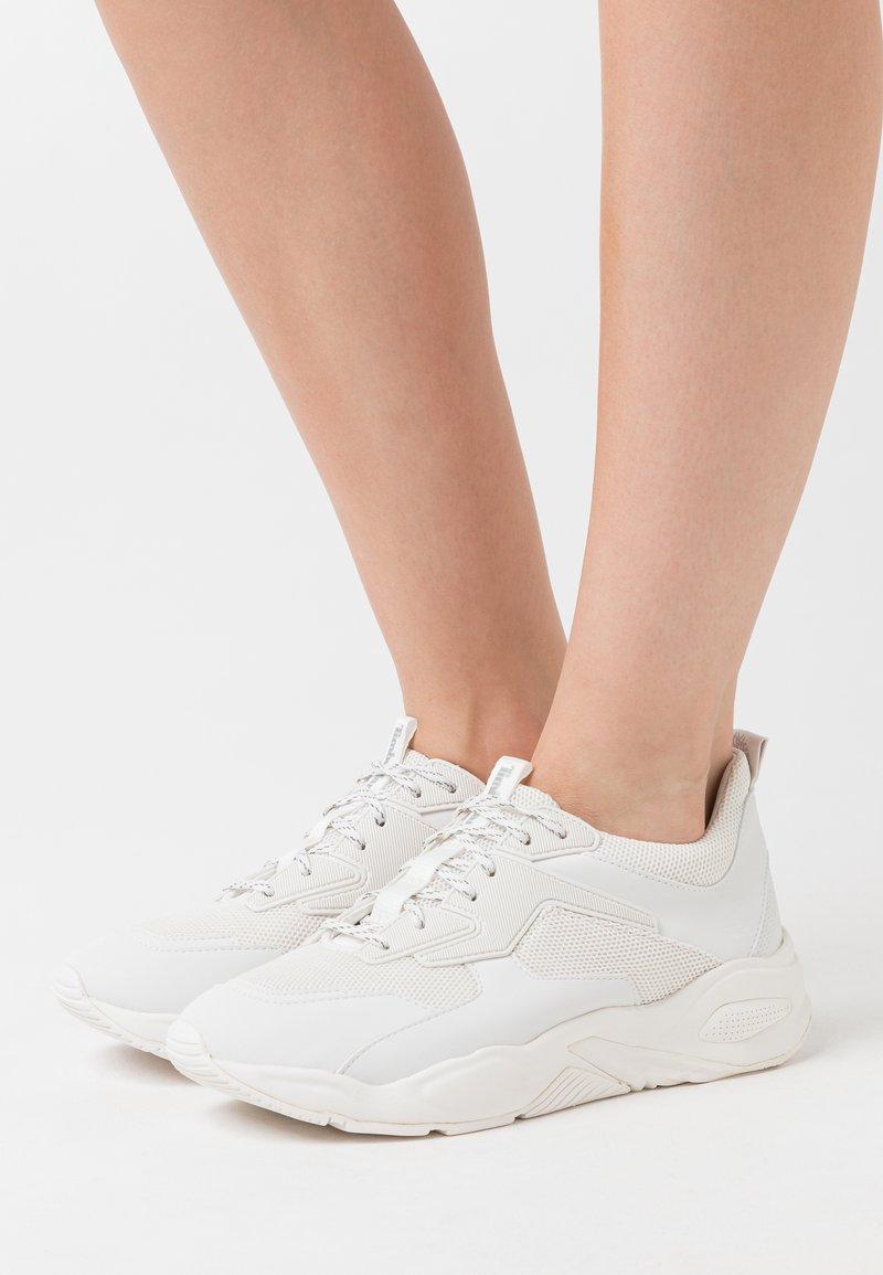 Timberland - DELPHIVILLE - Sneakersy niskie - white