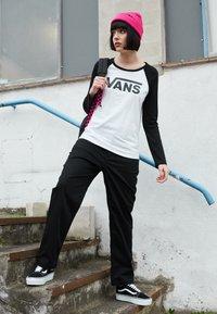 Vans - Bluzka z długim rękawem - white/black - 3