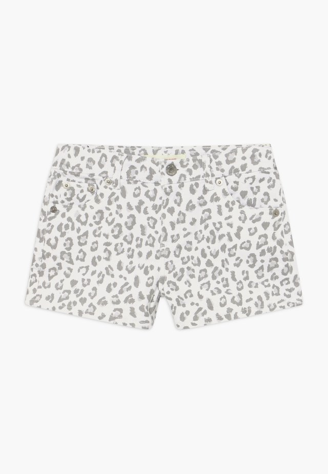 SHORTY - Jeans Shorts - white/gray