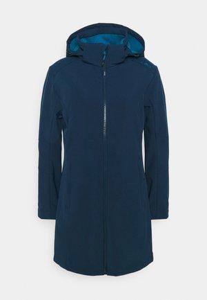 WOMAN ZIP HOOD - Soft shell jacket - blue ink/lake