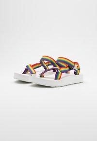 Teva - MIDFORM UNIVERSAL - Chodecké sandály - rainbow/white - 1