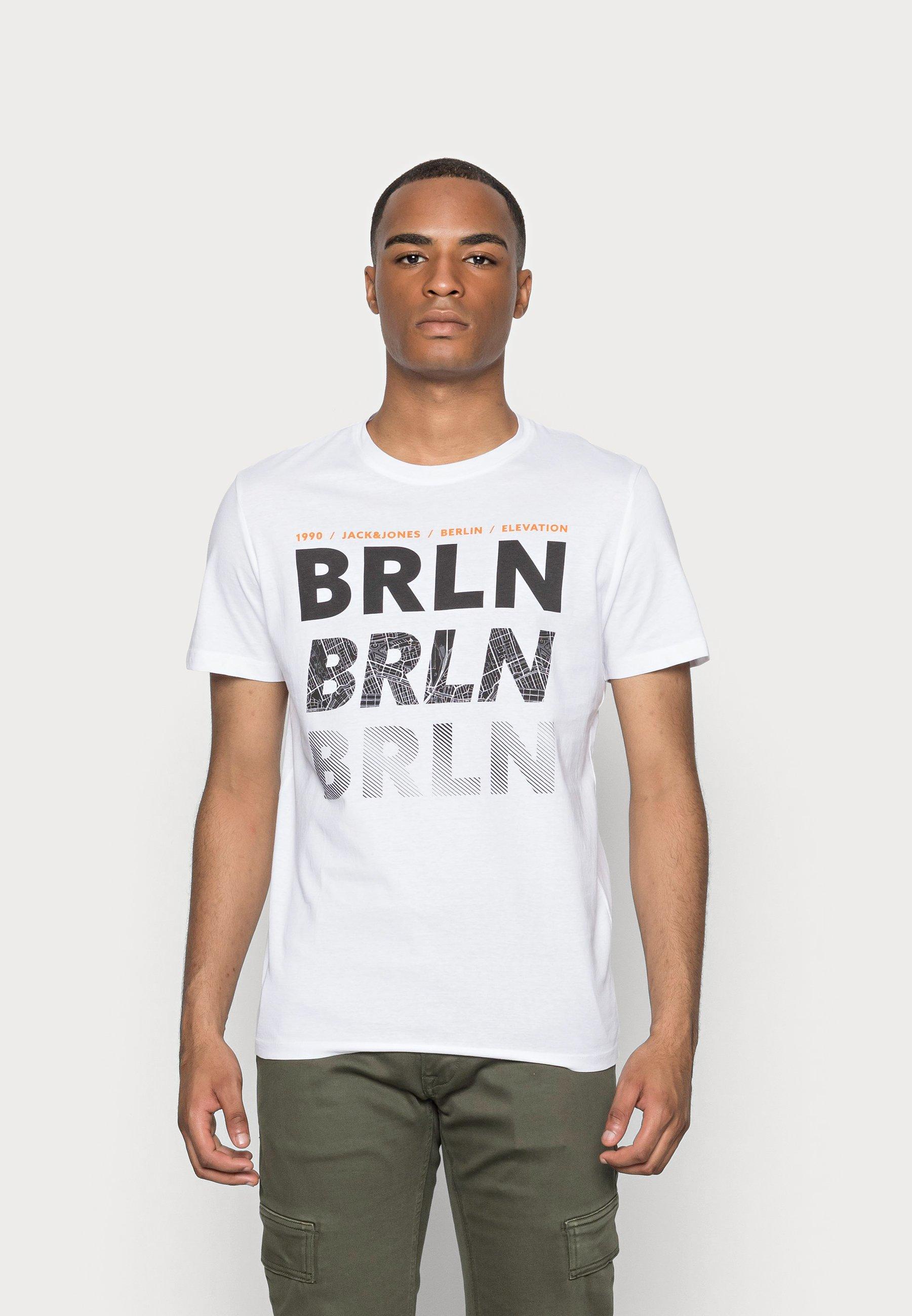 Herren JCOLIMITS CITY TEESS CREW NECK - T-Shirt print