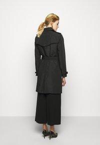 Lauren Ralph Lauren - TAFFETA  - Trenchcoat - black - 2