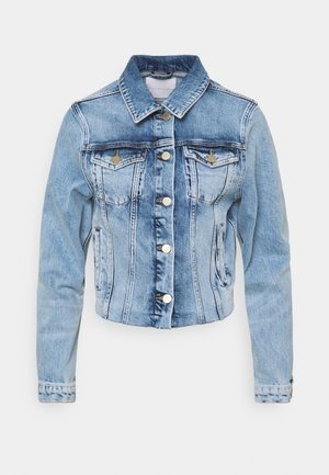 JACKET VINTAGE - Džínová bunda - denim blue