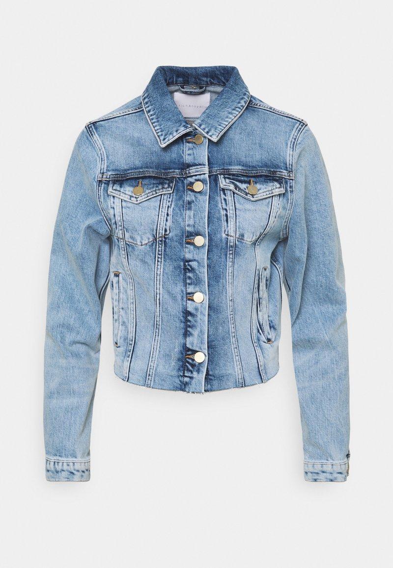 Rich & Royal - JACKET VINTAGE - Jeansjakke - denim blue