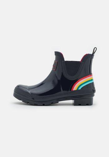 WELLIBOB - Stivali di gomma - navy/rainsbow