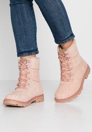 MEISA - Winter boots - blush