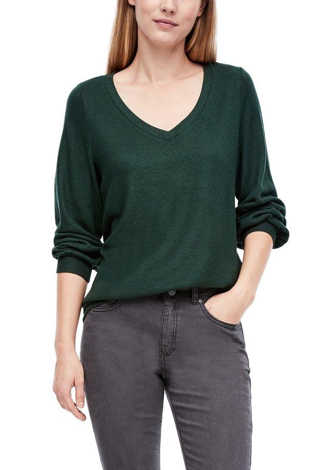 LANGARMIN O-SHAPE - Longsleeve - dark green