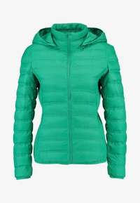 Benetton - HOODED JACKET - Down jacket - bright green - 4