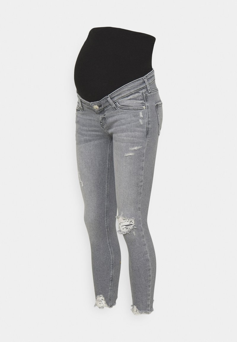 River Island Maternity - Jeans Skinny Fit - grey