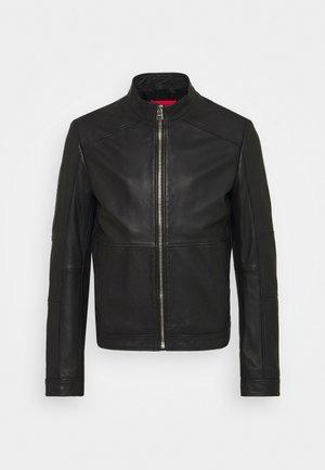 LOKIS - Leather jacket - black