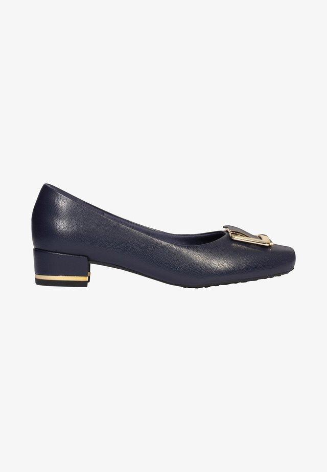JULIA - Classic heels - blau
